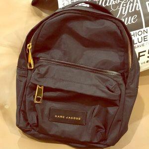 Marc Jacob's mini backpack in black nylon - NEW!